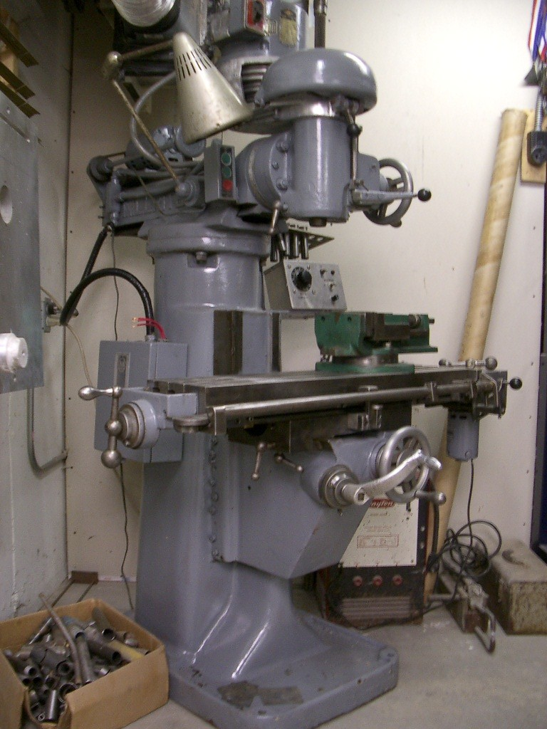 rockwell milling machine parts